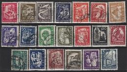 RO 499 - ROUMANIE N° 1690/1709 Obl. - 1948-.... Repúblicas