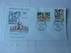 COTE D'IVOIRE (1972) Année Internationale Du Livre - Costa D'Avorio (1960-...)
