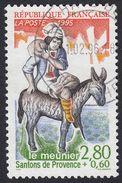 FRANCE Francia Frankreich - 1995 , Yvert 2977 Oblitéré - Les Santons De Provence, Le Meunier