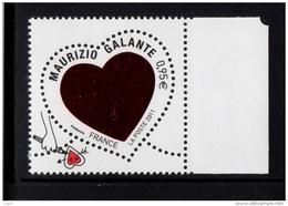 FRANCE 2011- Un  Gommé YT N° 4529** Saint-Valentin Coeur De Maurizio Galante 0.95€ BDF