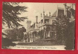 PRW-05 Villa Prangins à Gland, Ancien Château Du Prince Napoléon Auj. Club House Du Golf Du Domaine Impérial.Cachet 1909 - VD Waadt
