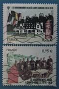 France 2015 : Le Gouvernement Belge à Sainte-Adresse N° 4933 à 4934 Oblitéré