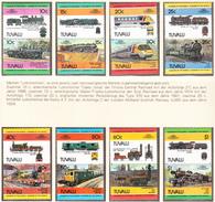TUVALU - 1984 - Locomotives - Yvert 239/254 Neufs **