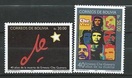 Bolivia 2007 The 40th Anniversary Of The Death Of Ernesto Che Guevara.MNH