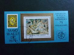 Cuba Peintre Jules Pascin Exposition Philatélique Sofia 79