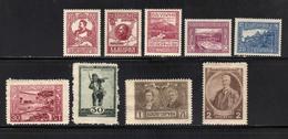 BULGARIE - 1921 YT 151 A 155  Et 142 A 145 - 1909-45 Regno