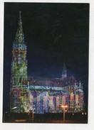 GERMANY - AK295578 München - Giesing - Heilig-Kreuz-Kirche - Lichtinstallation Philipp Geist - Muenchen