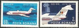 Romania 1970 PA Nuovo** - Mi.2840/41  Yv.223/24 - Posta Aerea