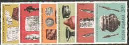 Romania 1976 Nuovo** - Mi.3358/63  Yv.2970/75 - 1948-.... Repubbliche