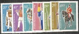 Romania 1980 Nuovo** - Mi.3751/57  Yv.3302/08 - 1948-.... Republics