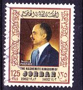 Jordanien Jordan - König Hussein II. (MiNr: 1217) 1983 - Gest Used Obl - Jordanie