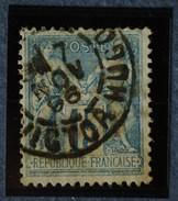 Sage N°90.Type II Ob.(CAD) PARIS Place Victor-Hugo.( Bur 71 )7 Nov 1896.