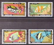 WALLIS & FUTUNA  Timbres De 1978  N°75/79 Pa  ( Ref4654 ) Animal - Poisson