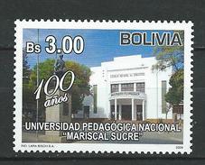 Bolivia 2009 National University Mariscal Sucre.Architecture/Buildings/Universities.MNH