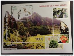 Cabo Verde 2012 - Areas Protegidas De Santo Antao Birds Of Prey Raubvögel Rapaces Oiseaux Vögel Sheet Block Bloc MNH