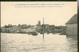 Catastrophe De La Divatte -  Les 1ères Maisons De Saint Julien De Concelles - France