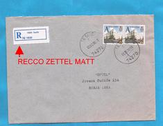 1999  113 TURISMO BANJA LUKA  RECCO ZETTEL PAPIER MATT   BOSNIA HERZEGOVINA REPUBLIKA SRPSKA  BRIEF  INTERESSANT