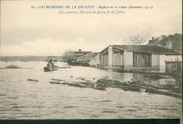 Catastrophe De La Divatte -  Les 1ère Maisons Du Bourg De Saint Julien - France