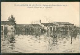 """Catastrophe De La Divatte -  Groupe De  Maisons Près La """"Chébuette"""" - France"""