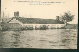 Catastrophe De La Divatte -  Maisons Sur La Route De Saint Julien - France