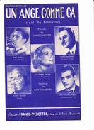 """Partition """"Un Ange Comme ça"""" Avec Paroles. Aimé BARELLI, Lucienne DELYLE, Dario MORENO, Sidney BECHET,Jean Eddie CREMIER - Musique & Instruments"""