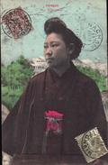 ASIE INDOCHINE COCHINCHINE VIET-NAM VIETNAM TONKIN JAPONAISE FEMME JEUNE FILLE (prostitution Prostituée) Cachets NACHAM