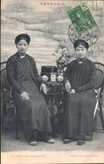 ASIE INDOCHINE COCHINCHINE VIET-NAM VIETNAM TONKIN  ANNAME FEMMES ANNAMITES édit PASSIGNAT HANOI