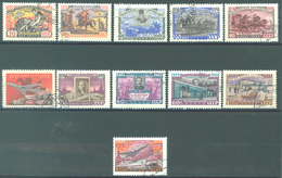 URSS - 1958 - USED/OBLIT. - Mi 2113-2123 Yv 2077-2083 2085-2088 - Lot 15240