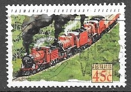 1993 45 Cents Train, Centenary Special, Used