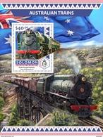 SOLOMON Isl. 2016 - Australian Trains S/S