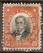 CHILI    -    1911 .  Y&T N° 93 Oblitéré.  Variété De Piquage. - Chile