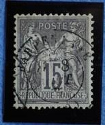 Sage N°77 Type Il Ob.(CAD) BARBENTANE.( Bouches Du Rhône ) 8 Aôut 1877.