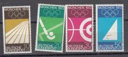 Germania Federale 1972 - Giochi Olimpici **