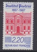 France 1987 Institut Pasteur 1v ** Mnh (FR155D)