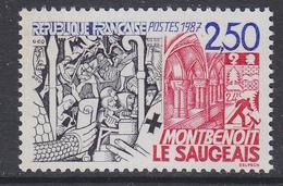 France 1987 Montbenoit / Le Saugeais 1v ** Mnh (FR155E)