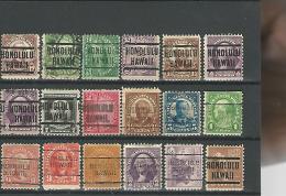 36828 ) USA Precancel Collection Hawaii