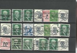 36833 ) USA Precancel Collection Hawaii