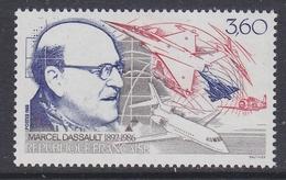 France 1988 Marcel Dassault 1v ** Mnh (FR155H)