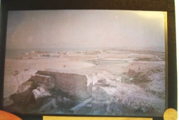 Carthage ( Lieu à Confirmer  ) Tunisie Afrique Plaque De Verre Autochrome 7X11cm Bien Lire Descriptif - Glass Slides