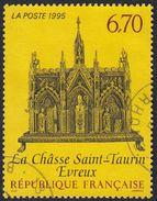 FRANCE Francia Frankreich - 1995 - Yvert 2926, Oblitéré - La Châsse (reliquaire) De Saint-Taurin.