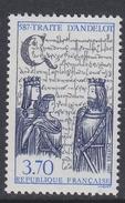 France 1987 Traite D'Andelot 1v ** Mnh (FR155I)