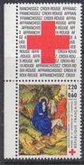 France 1987 Croix Rouge 1v ** Mnh (FR155L)