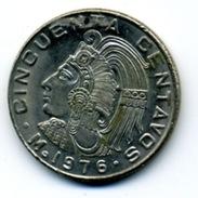 1976 50 CENTAVOS - Mexico
