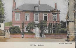 CARTE POSTALE ORIGINALE ANCIENNE : BORNEL LA MAIRIE  ANIMEE OISE (60) - France