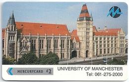 UK (Paytelco) - Manchester University - 2PUNA - PYU012a - 9.341ex, Used - United Kingdom