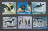 Ross Dependency 2001 Penguin Bird Set 6 MNH - Ross Dependency (New Zealand)