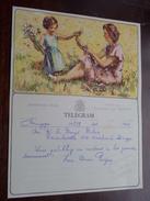 TELEGRAM Voor Denys - Deboo - Verzonden 1962 BRUGGE Omer Paepe / Belgique - Belgium !! - Faire-part