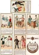 14 Chromos Chicorée A La Boulangere Jeux Experience  (bon Etat) - Thé & Café