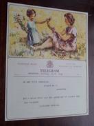 TELEGRAM Van Gaelen Antwerpen / Verzonden 1947 Gaublomme Moreaux / Belgique - Belgium !! - Announcements