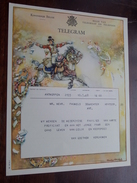 TELEGRAM Pauwels De Wachter Antwerpen / Verzonden 1948 Van Goethem Vergauwen / Belgique - Belgium !! - Faire-part